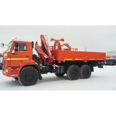 Бортовой КАМАЗ 43118 с КМУ FASSI F175А.0.22