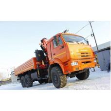 Бортовой КАМАЗ 43118 с КМУ FASSI F245А.0.22