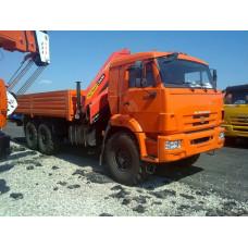 Бортовой КАМАЗ 43118 с КМУ Palfinger PK 13501SLD A R1 STZY3