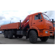 Бортовой КАМАЗ 43118 с КМУ PALFINGER PK 15500 А