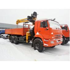 Бортовой КАМАЗ 43118 с КМУ Soosan SCS 736